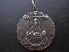 medalla religiosa NTRA SEÑORA DE LAS ANGUSTIAS XIX plata medal religious silver