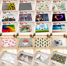 "15X23"" Flannel Floor Mat Non-slip Bath Mat Rug Soft Bedroom Carpet Scenery Print"