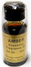 AMBER Essential Oil Fragrance India Aroma Oils 10 ml & FREE SHIPPING Diffuser