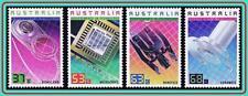 AUSTRALIA 1987 TECHNOLOGY MNH COMPUTERS, CERAMICS, SCIENCE