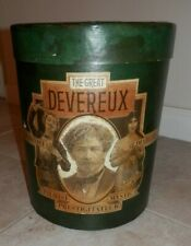 VINTAGE -THE GREAT DEVEREAUX- Magician ILLUSIONIST DIABLERIE MYSTIC PALMIST -BOX