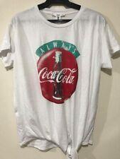 MANGO - Coca Cola tie front shirt