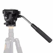 pro Light weight Fluid Camera Tripod Head with Quick Release Plate vt-1510