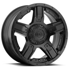 "Gear Alloy 740B Manifold 17x9 5x5""/5x5.5"" -12mm Satin Black Wheel Rim 17"" Inch"