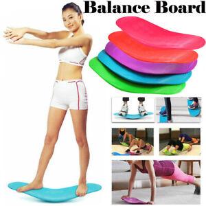 Unisex Training Balance Board Twisting Fitness Yoga Balance Board W/ Free Mat
