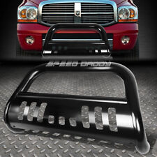 FOR 94-02 DODGE RAM 1500/2500/3500 TRUCK BLACK BULL BAR PUSH BUMPER GRILL GUARD