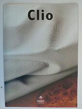 Prospekt Renault Clio INITIALE PARIS, 5.1999, 6 Seiten, folder