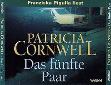 PATRICIA CORNWELL : DAS FÜNFTE PAAR / 5 CD-SET (HÖRBUCH)