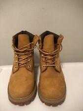 KIds TIMBERLAND 12709 Yellow Boots Leather Size 4M