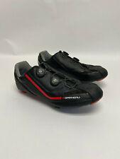 LOUIS GARNEAU COURSE 2LS ROAD BIKE CYCLING SHOE BLACK/RED SIZE 12.5 46.5