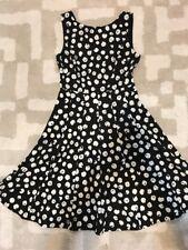 New DKNY Black Fit And Flare Dress Sz 2 $129