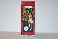 Hallmark Christmas Ornament 1997 Magic Johnson Hoop Stars w Trading Card