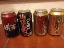"Lattine Coca-Cola 330 ml""Polon-Italy-France"" Vecchio formato 2006+ vario(Leggi)"