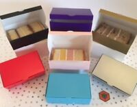 Party Cake Slice Boxes  Larger  105 x 65 x 35mm all colours