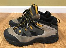 Salomon X-Hiking Trail Hiking Boots Shoes Men Size 9.5 Contragrip