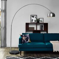 Mid-Centry Modern Contemporary Arc [COLOR[ Metal Floor Lamp