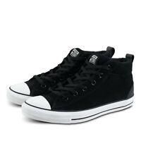 Mens Converse CTAS Street Mid 161465C Black/White Size 9 Skater Shoes