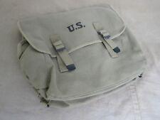 US Army Canvas M36 Musette Bag Sturmgepäck Kampftasche Marines USMC Navy WK2 #2