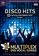 DISCO HITS VOL 1 - SUNFLY MULTIPLEX KARAOKE DVD - 13 HIT SONGS