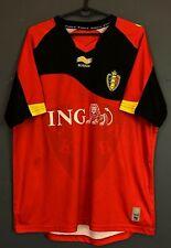 Men'S Belgium National 2010/2011 Training Soccer Football Shirt Jersey Size L
