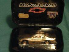 50TH ANNIVERSARY NASCAR MONTE CARLO 24 KARAT DIE CAST NIB