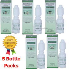 5X DR RECKEWEG CINERARIA MARITIMA EYE DROPS Without Alcohol 10ml