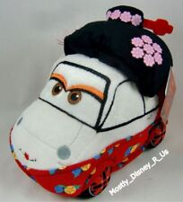 Disney Store Pixar Cars 2 Okuni Kabuki Dancer en Kimono Juguete de Felpa