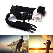 Waist Gimbal Fishing Belt Fish Rod Holder Adjustable StandUp Fighting Boat Pole0