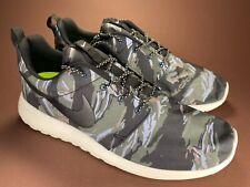 Nike Roshe Run GPX Black Sail Mercury Grey Camo Rare 2013 555445 001 New Size 10