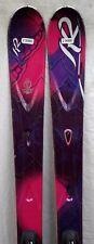 12-13 K2 SuperFree Used Women's Demo Skis w/Bindings Size 160cm #236880