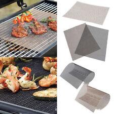 Tapis Grille de barbecue antiadhésifs pliables camping grillades cuisson Pizza