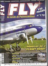 FLY N°176 DOUGLAS DC-3 / ELEKTRO TRAINER S GRAUPNER / BLACKHAWK A2PRO / BELL 47