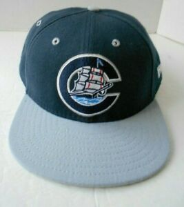 COLUMBUS CLIPPERS NEW ERA MLB NAVY SNAPBACK M/L HAT CAP  * NEW