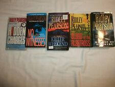 Ridley Pearson, Lot of 5 Paperbacks  Very Good