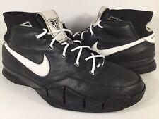 Nike Zoom Kobe 1 Uptempo Custom Black White 2006 Mens Size 12 Rare 313143-012