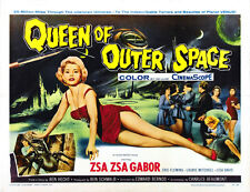 "Queen of Outer Space Movie Poster Replica 11x14"" Photo Print"
