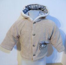 double U ° süsse Jacke Gr. 80 braun Jungen Mode Kleidung Jacke Baby Winterjacke