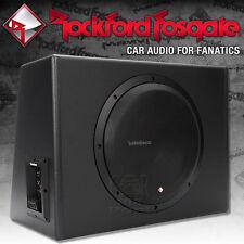 Rockford Fosgate Punch P300-12 Aktiv Gehäusesubwoofer 30cm 600 W. Bass Subwoofer