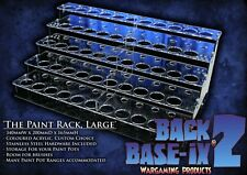 Paint Bottle Rack Modular Organizer for Games Workshop Citadel 12ml Paint 43 Pot