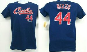 MLB Chicago Cubs Boys Anthony Rizzo T Shirt Size XL 16/18