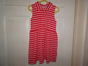 Next Girls Stripped Dress - 2-3 Years
