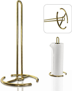 Paper Towel Holder, Steady Countertop Standing Paper Towel Stand, Fits Standard