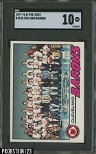 1977-78 O-Pee-Chee OPC Hockey #75 Cleveland Barons Team SGC 10 CENTERED LOW POP