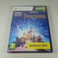 *New Sealed* Kinect Disneyland Adventures Xbox 360 Bundle Video Game Manual PAL