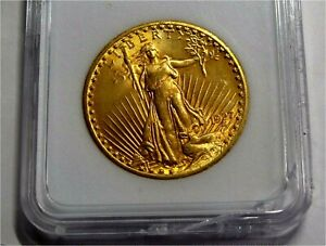 1927 USA $20 Dollars Gold Coin, SAINT- GAUDENS Double Eagle Superb MS+++ UNC