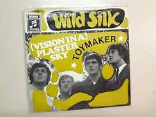 """WILD SILK:(Vision In A)Plaster Sky-Toymaker-Germany 7"""" 69 Columbia 006-90046 PSL"""