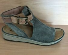Naot suede LeatherLadies gladiator Sandal Slide as new Sz 38/ 8