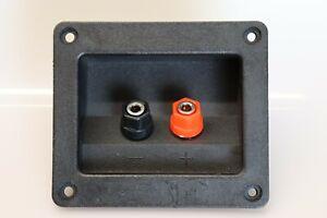 Speaker box Terminal binding Post 4mm banana socket