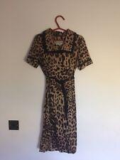 Animal Print Vintage Dress Size 8