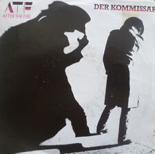 """7""""1982! AFTER THE FIRE Der Kommissar ( FALCO ) /MINT-?"""